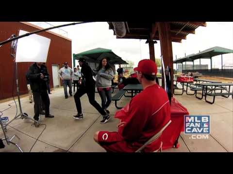 Jay Bruce Pranks MLB Fan Cave Finalists