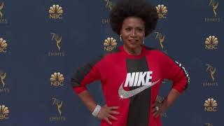 Jenifer Lewis in Nike, Johansson a goddess at Emmys