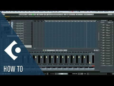 How to Rename Instrument Racks in Cubase | Q&A with Greg Ondo