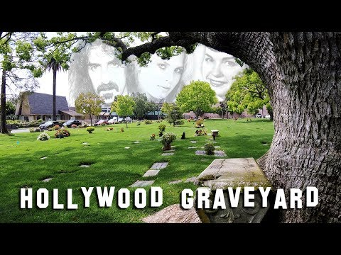 FAMOUS GRAVE TOUR - Westwood #3 (Natalie Wood, Bettie Page, etc.)