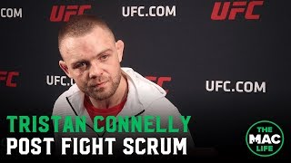 Tristan Connelly talks huge underdog victory over Michel Pereira | UFC Vancouver
