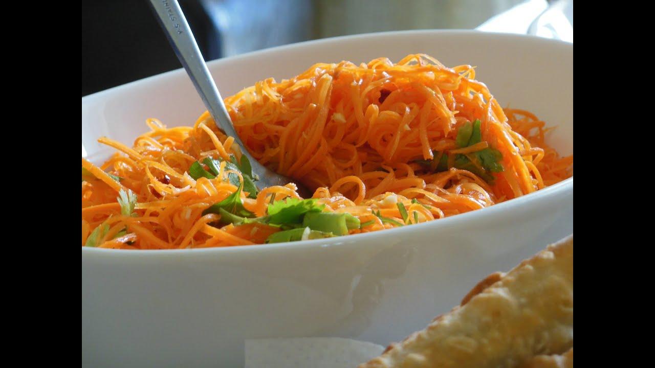 Видео корейская морковка в домашних условиях рецепт видео