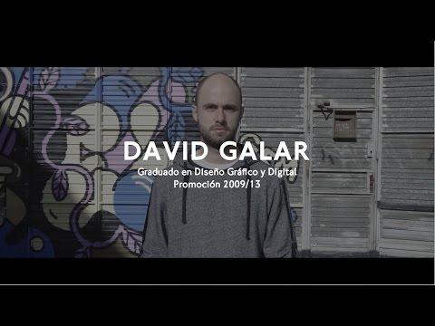 Idep Stories: DAVID GALAR. Graduado Superior en Diseño Gráfico y Digital