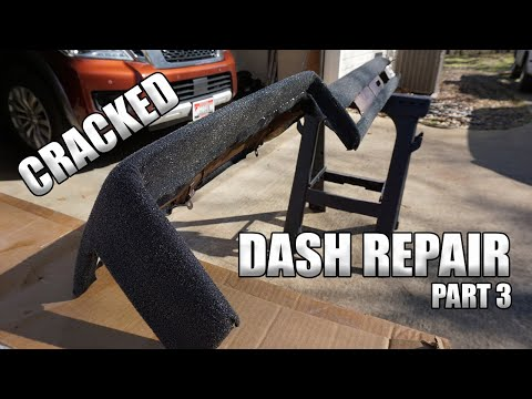 Repairing Cracked Dash With Fiberglass Chevy C10 (Part 3)