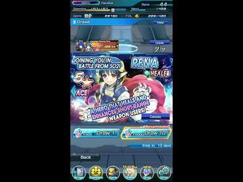 SOA: Summoning for Rena - My Star Ocean 2 Waifu!