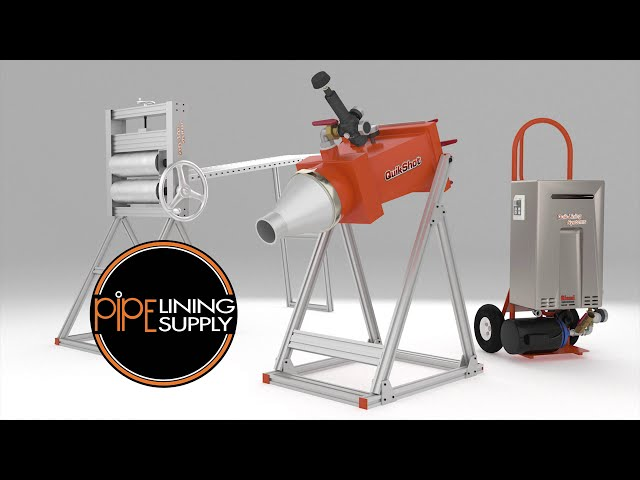 Quik-Shot System, CIPP from Pipe Lining Supply