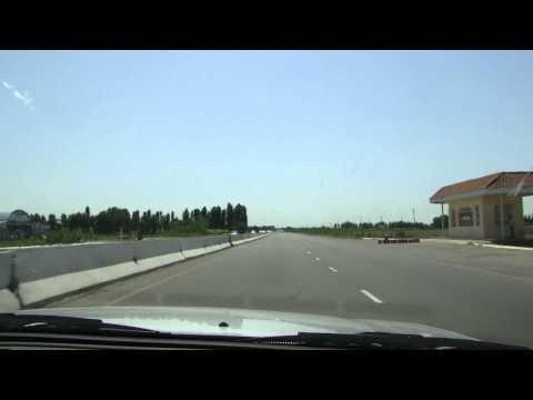 16. Tashkent to Samarkand, Uzbekistan Highway Road 2010 (HDTV 1080p)
