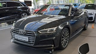 2019 Audi A5 Cabrio sport 40 TFSI S tronic - Visual Review!