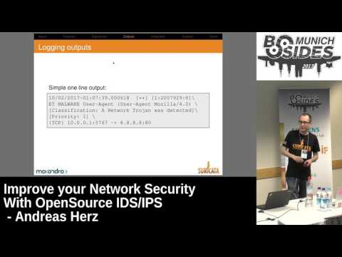 Improve you Network Security With Opensource IDS/IPS