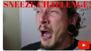 DONT SNEEZE CHALLENGE! (Slomo)