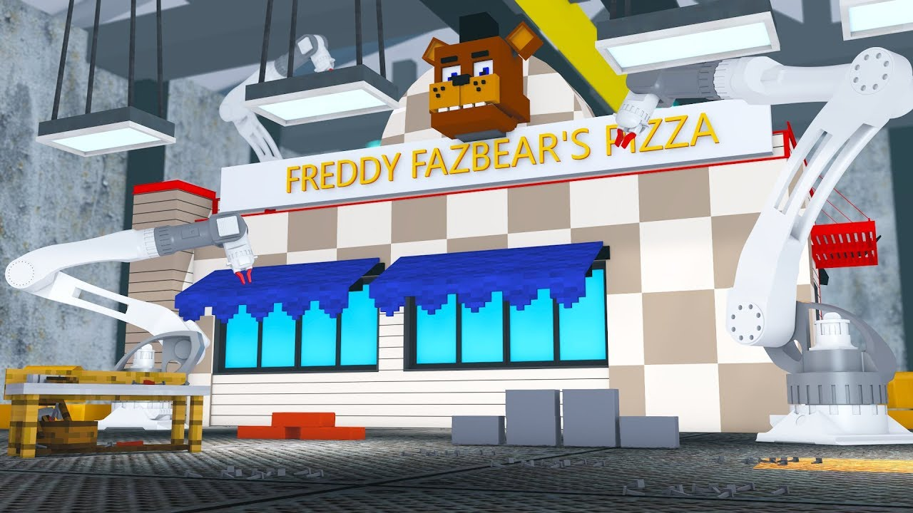 Minecraft Fnaf Pizzeria Franchise Buying Our Own Restaurant 1