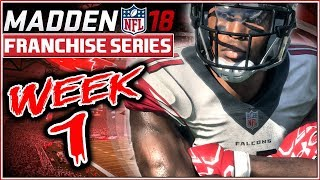 Madden 18 Franchise Mode Week 1 - Atlanta Falcons vs Chicago Bears