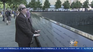 Blind 9/11 Survivor Returns To World Trade Center Site