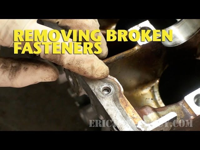 Here's How To Remove A Broken Bolt Without Losing Your Mind