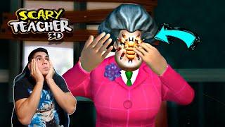 CUIDADO CON LA ARAÑA SCARY TEACHER 3D CAPITULO 4  | DiegoReyXD