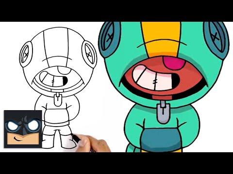 How To Draw Leon | Brawl Stars | Awesome Step-by-Step Tutorial