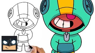 How to Draw Leon | Brawl Stars | Awesome Step-by-Step Tutorial