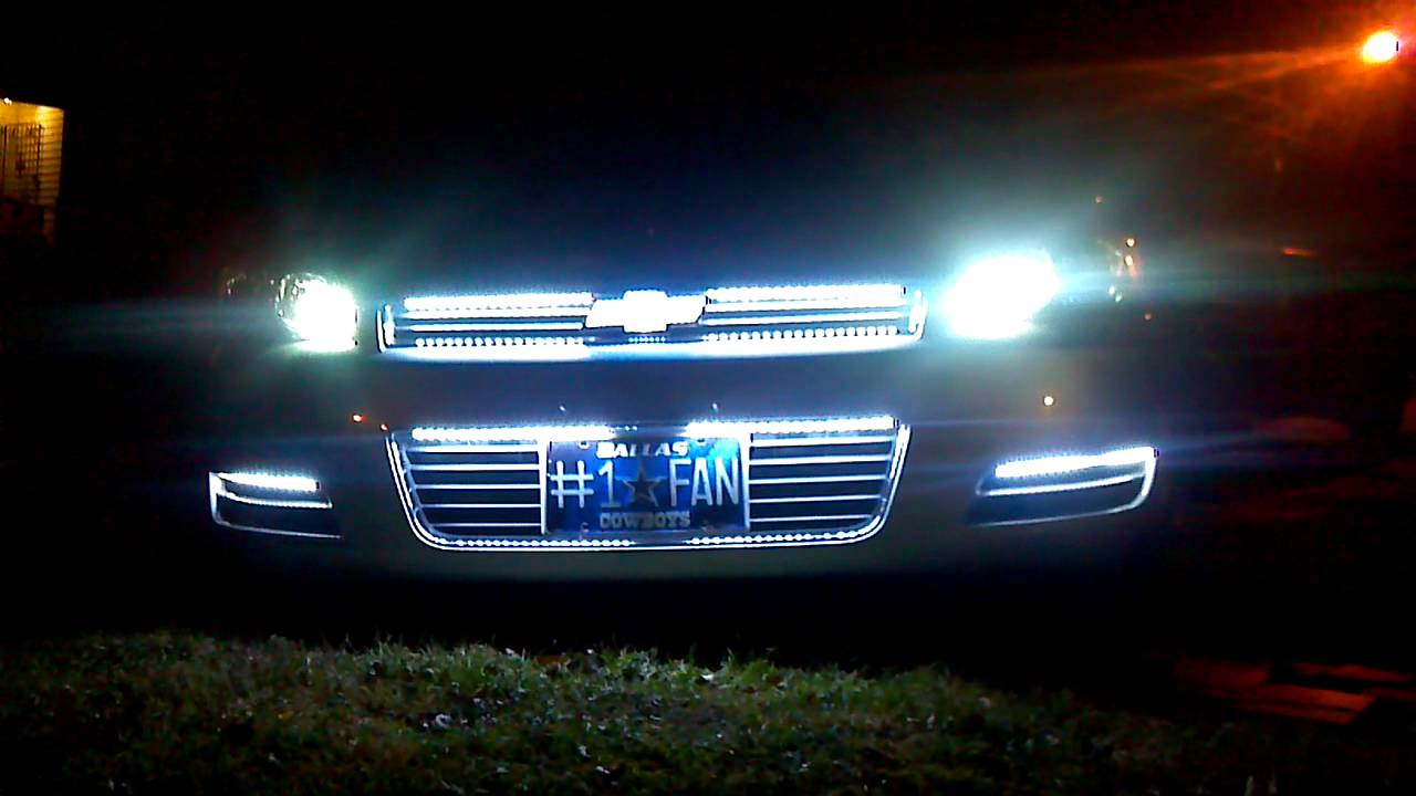 Impala Leds Lights Youtube