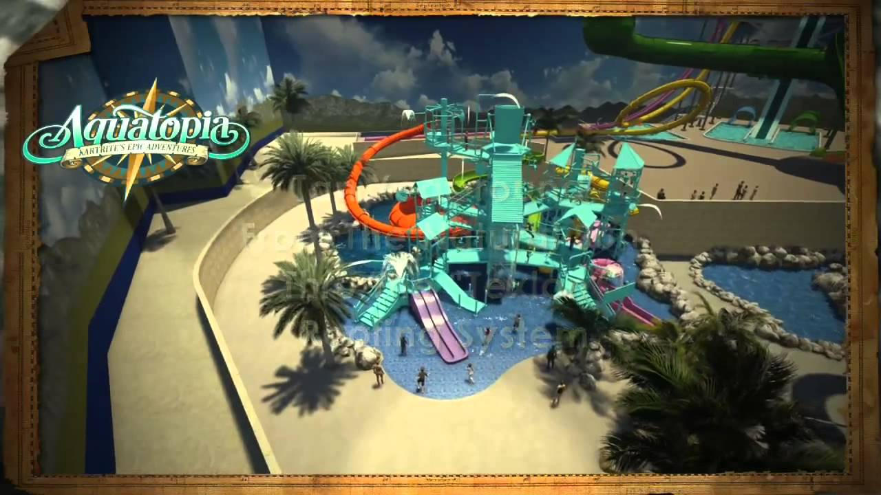 Animated Tour Of Aquatopia Indoor Waterpark Coming Spring 2017 Camelback Mountain Resort