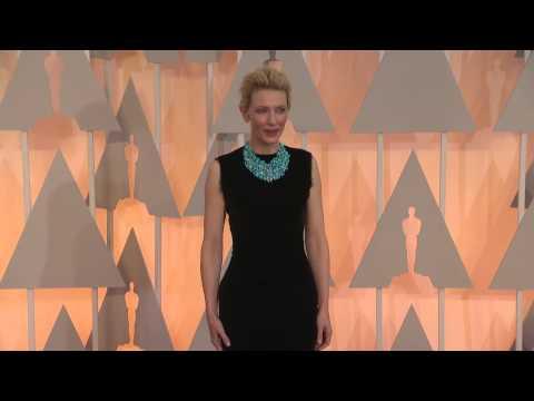 Oscars: Cate Blanchett Red Carpet Fashion (2015)