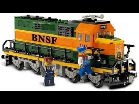 LEGO 10133 Burlington Northern Santa Fe (BNSF) Locomotive