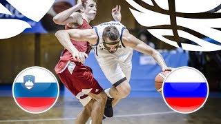 Slovenia v Russia - Full Game - Semi-Finals - FIBA U20 European Championship Division B 2018