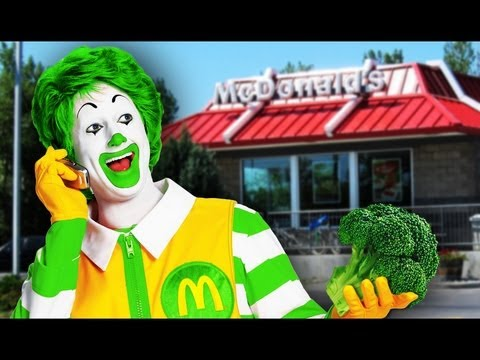 Vegetarian McDonalds Opening in India
