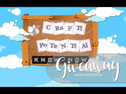 1,000 Subscriber Giveaway Announcement for CRaFTi PoTeNTiAl Know How :D