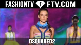 Dsquared2 Deliver a Psychedelic Spring 2016 Collection at Milan Fashion Week | MFW | FTV.com
