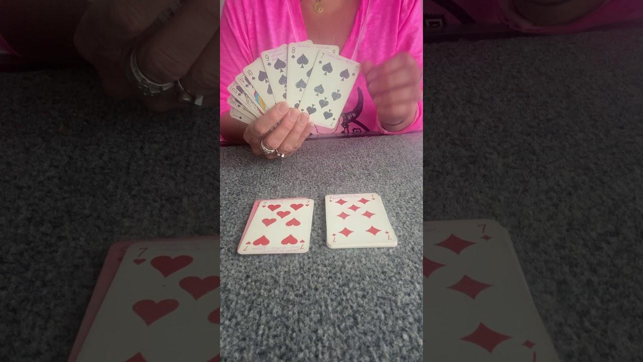 Apprenez A Tirer Les Cartes Avec Un Jeu De 32 Cartes Youtube