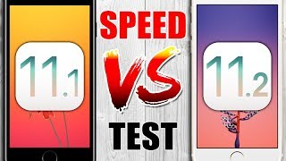 iOS 11.1 vs iOS 11.2 - SPEED Test - CRAZY Results