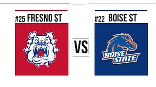 Overtime Madness 2018 Mountain West Championship #25 Fresno State vs #22 Boise Full Game Highlights
