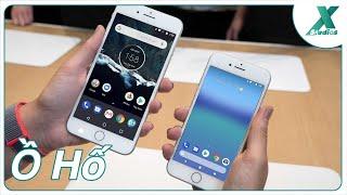 """CHÍNH THỨC cài được Android lên iPhone, hãng """"A"""", """"S"""" học Bê-phôn :v"""