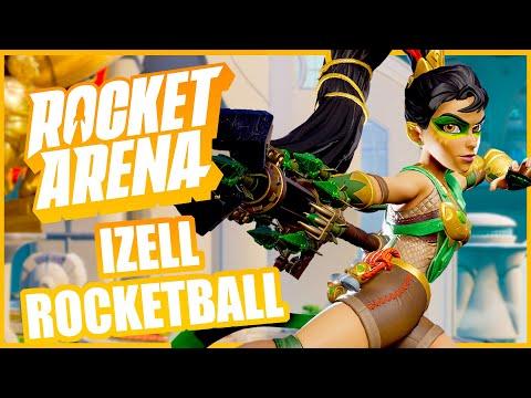 Izell BEST Game of Rocketball! Rocket Arena |