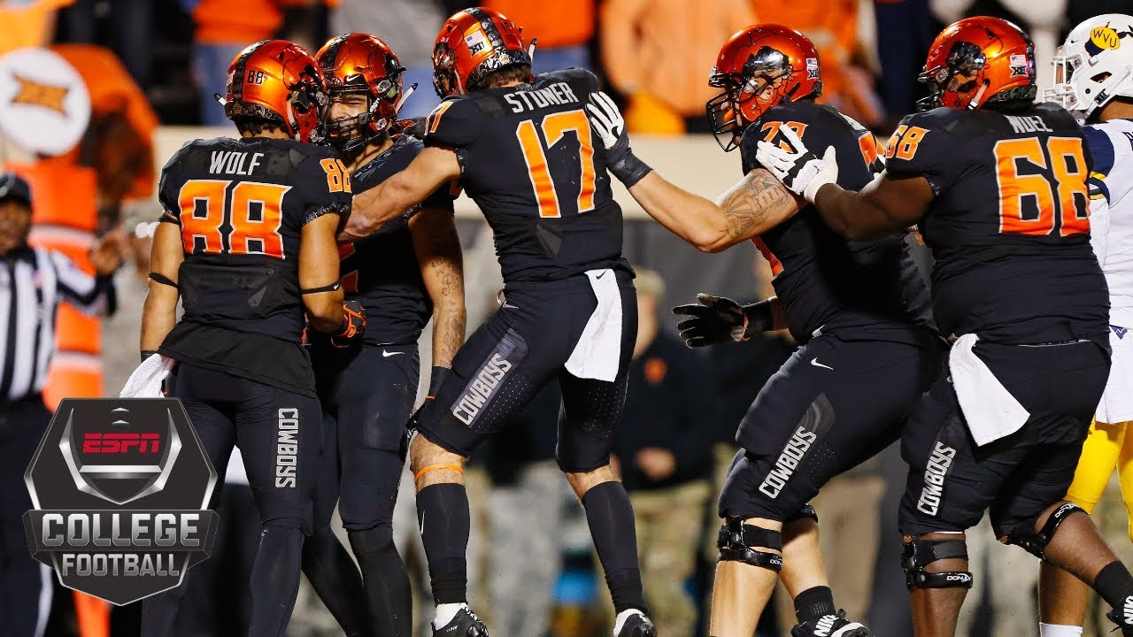 Oklahoma State upsets No. 9 West Virginia in the final ...