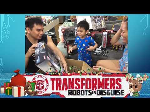 KOBE'S TRANSFORMERS CHRISTMAS GIFT 2018