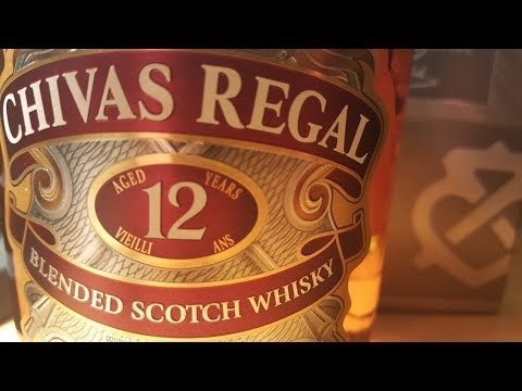 Whisky Review: Chivas Regal 12 year old Blended Scotch Whisky