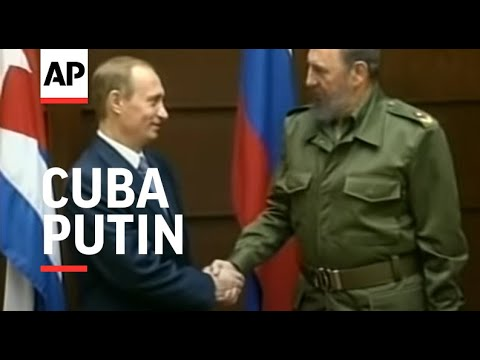 CUBA: RUSSIAN PRESIDENT PUTIN VISIT