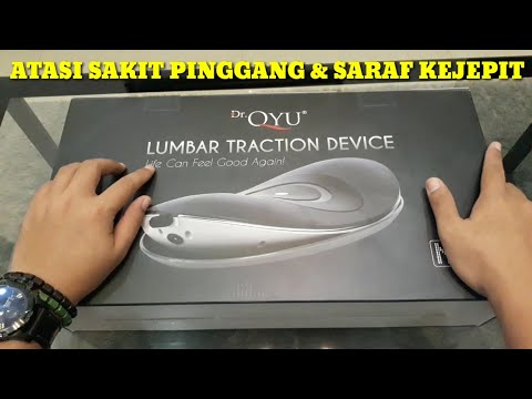 Unboxing - DR QYU LUMBAR TRACTION DEVICE - ALAT TERAPI NYERI PINGGANG / SARAF TERJEPIT