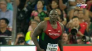 Julius Yego 92 72 Wins Javelin Throw Beijing 2015