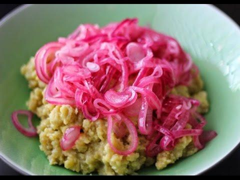 NEW!!! Como Hacer Cebollas Fritas (Salami & Huevos) dominicano