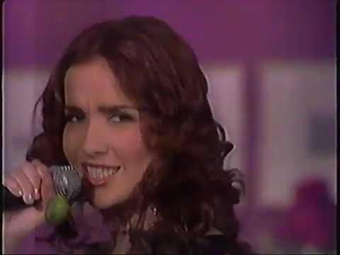 """Natalia Oreiro . En La Botana Canta """"Huracan"""" (1999 - Mexico)"""