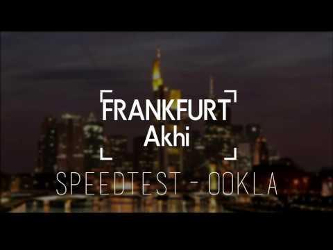 INTERNETGESCHWINDIGKEIT messen | SpeedTest Ookla | FRANKFURT Akhi
