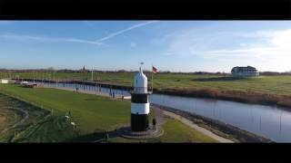 """Cuxland Ferienpark Wremen und Leuchtturm """"Kleiner Preusse"""" in 4K"""