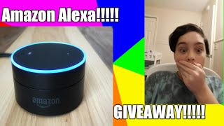 EPIC ALEXA ECHO DOT GIVEAWAY LIMITED TIME!!!
