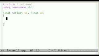 Урок 10.  C++ Метод половинного деления