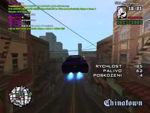 Gta San Andreas Infernus drift in sf