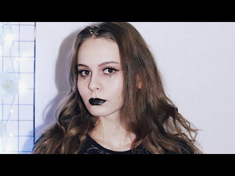 Смотреть клип GRUNGE New Year's Eve Makeup | Макияж в стиле ГРАНЖ онлайн бесплатно в качестве