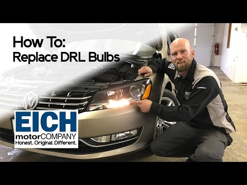 How To Replace Daytime Running Lights on a VW Passat or Jetta | Eich Motor Company