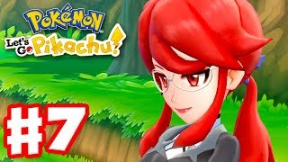 Pokemon Let's Go Pikachu and Eevee - Gameplay Walkthrough Part 7 - Saved by Lorelei